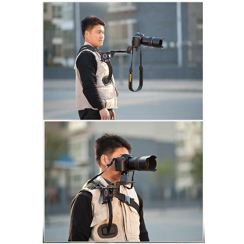 Manbily SR-500 Eller Serbest Omuz Askısı Omuz Desteği DSLR kameralar ve Kameralar