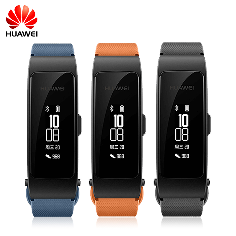 Huawei Talkband B3 Lite Bracelet intelligent Bluetooth Bracelet intelligent casque Fitness Tracker rappel d'activité