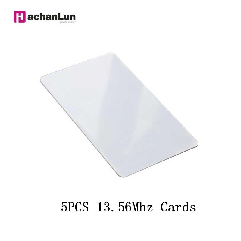 5 / 10PCS RFID UID Access Control Thin Card 13.56Mhz Rewritable Copy Key Token NFC Smart Chip Badge Clone 0 Sector Writable Tag