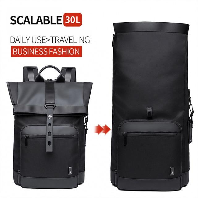 Bange Men Fashion Backpack Multifunctional Waterproof Backpack Daily Travel Bag Casual School Rucksack for Unisex 3
