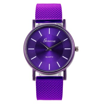 Watches Women Dress Stainless Steel Band Analog Quartz Wristwatch Fashion Luxury Lady Watch 2