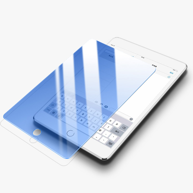 Anti Blue Light Tempered Glass For IPad 10.2 Inch 2019 Screen Protector Tablet Film For New IPad 10.2 Curved Edge Glass