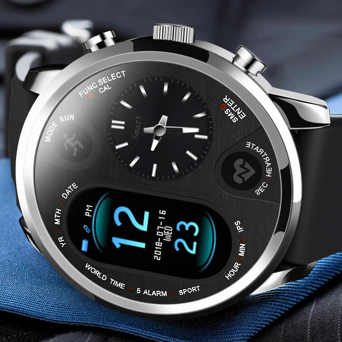 Top Luxury Digital Watch Men Sport Watches Electronic LED Male Wrist Watch For Men Clock New Wristwatch Heart Rate Hours Hodinky|Digital Watches| |  - title=