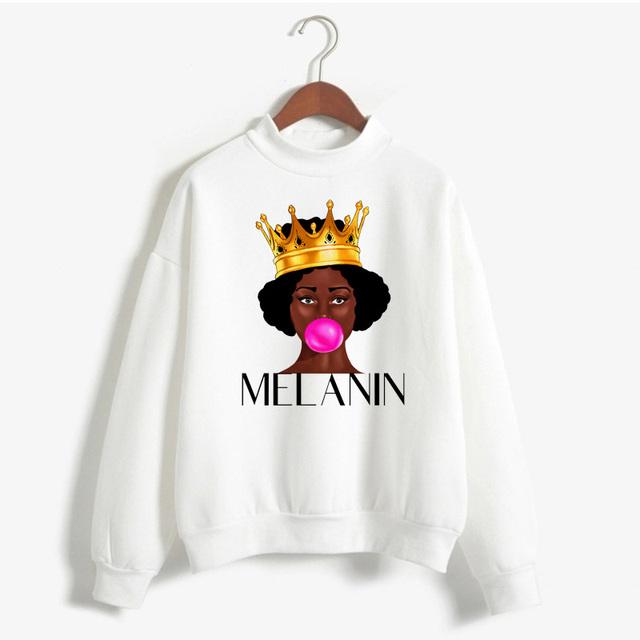 MELANIN POPPIN THEMES SWEATSHIRT (21 VARIAN)