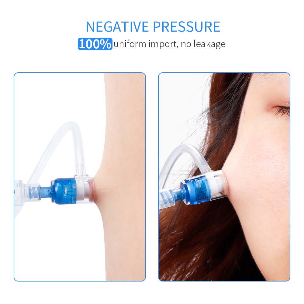 Image 2 - Hydrolifting Gun Korea Mesotherapy EZ Negative Pressure Meso gun Mesotherapy Hydrolifting Water Injector Microcrystal Injection-in Ion Device from Beauty & Health