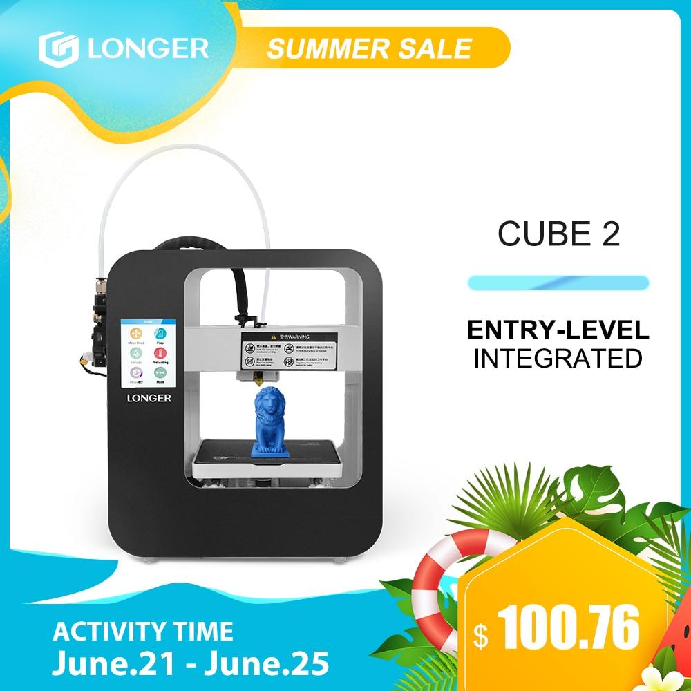 3D-принтер Longer Cube2 FDM Longer3d FDM 3D-принтер Impresora 3D Drucker