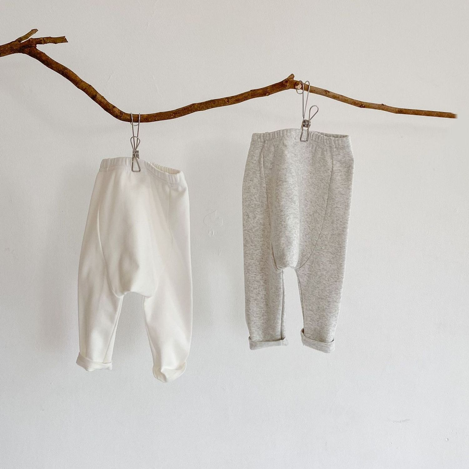 cotton soft girl baby pants white spring autumn clothes for newborns warm baby boy pants Leggings for girls baby clothes