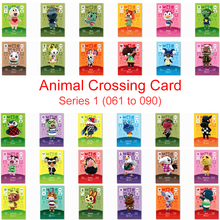 Series 1 (061 to 090) Animal Crossing Card Amiibo Card Work for NS Game New Horizons Flurry Cherry Chief Diana Bunnie Villager