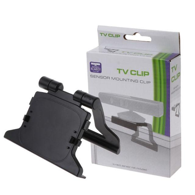 Pinza de sujeción de TV montaje soporte titular Kinect para xbox 360 Sensor Video juego consola de soporte
