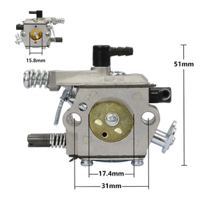 Image 2 - เบนซินChainsawคาร์บูเรเตอร์Carbเครื่องตัดแปรงคาร์บูเรเตอร์Fit KOMATSU 4500 5200 5800 45cc 52cc 58ccอะไหล่เลื่อยลูกโซ่
