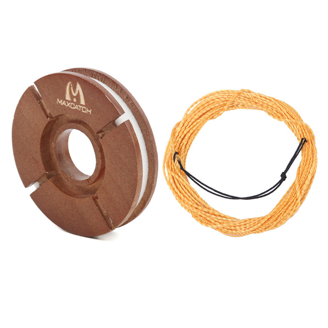 MaximumCatch® Fly Line 12FT//13FT Tenkara With Wooden Line Holder Kit Braided