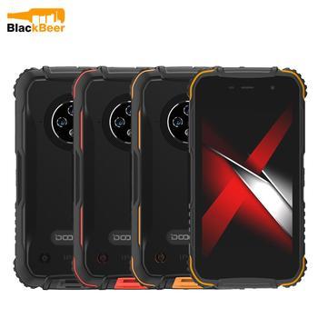 Перейти на Алиэкспресс и купить DOOGEE S35 Pro Смартфон Android 10,0 OS Четырехъядерный 4 Гб + 32 Гб мобильный телефон IP68 прочный мобильный телефон AI Тройная задняя камера 4350 мАч