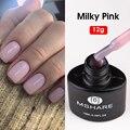 MSHARE молочно-розовый Гель-лак для ногтей отмачиваемый 12 г высушенный с сушилкой для ногтей телесный бежевый лак