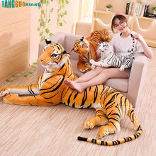 1pc 40cm&60cm Simulation Tiger Stuffed Plush Toy Cusion/Pillow Kids Gift Baby Toy Kawaii plush Animal Gifts for Kids larggest size 170cm simulation tiger yellow or white prone tiger plush toy surprised birthday gift w5490