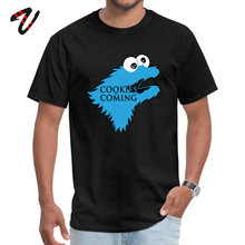 2019 Family Camisa Cookies Monster Game of The Thrones Funny Tshirts are Comming Cartoon Graphic Fashion Brand TeeShirt