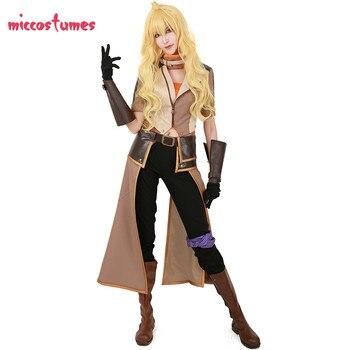 Yang Xiao Lunga del Costume di Cosplay Giallo Vestito 1