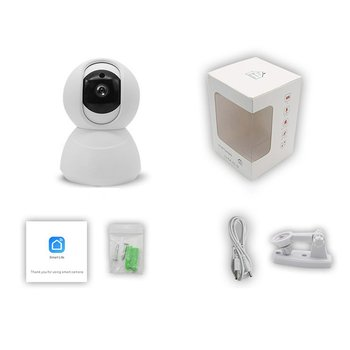 Smart Wireless Night Vision Wifi Camera HD Remote Surveillance Camera Mobile Phone Remote Surveillance Camera Infrared Camera wifi wireless network hd head cloud monitoring smart camera phone remote broadcast