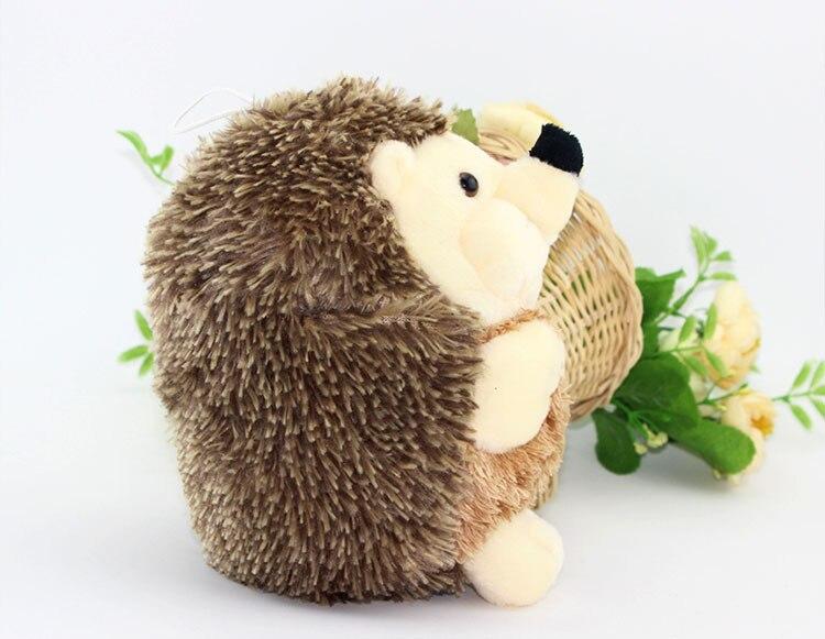 Cute Soft 18cm Hedgehog Animal Doll Stuffed Plush Toy Gift Children Kid Home Hedgehog Animal Doll Toy Kids Gift