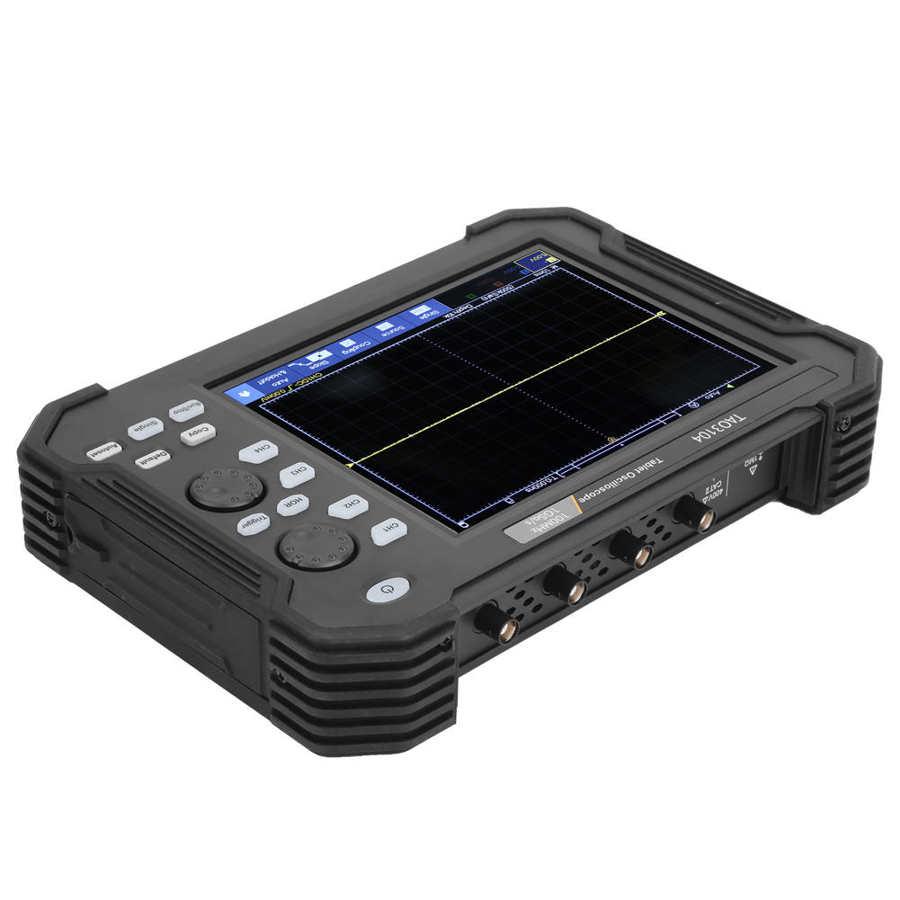 Tao3104 100mhz osciloscópio 4ch lcd tela de
