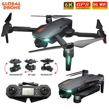 GD91 Pro/Max Drone 6K HD Cámara 5G Wifi GPS 3 ejes cardán...