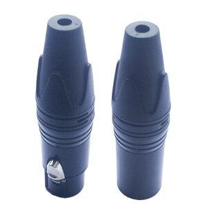 Image 5 - 10 шт./лот, 5 контактный разъем XLR с никелированным штекером, 5 полюсный разъем XLR для микрофона, кабель для микрофона, аудиоразъем