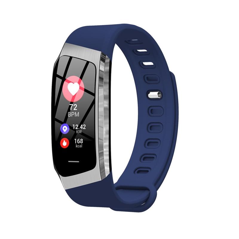 Tela de Toque da Cor do Monitor de Freqüência Pulseira para Ios Android à Prova Esportes de Fitness Novo Relógio Inteligente Cardíaca Pressão Arterial d' Água Rastreador