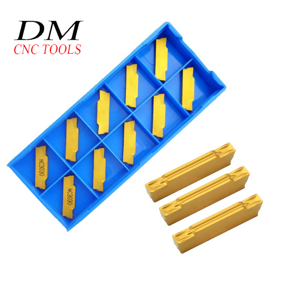 10pcs MGMN150-G MGMN200-G MGMN250-M CNC Cemented Carbide Cutting Blade Metal Turning Lathe Tools