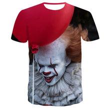 2019 New Hot Sale Clown T Shirt Men/women