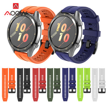 Sport Silicone Watchband 22mm for Huawei Watch GT Active / Classic Honor Magic Quick Release Bracelet Band Strap Smart - discount item  43% OFF Watches Accessories