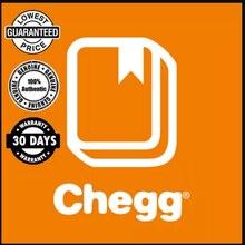 Chegg – compte officiel anglais, outil d'étude de qualité, garantie de connexion, paquet d'étude de confidentialité, 1 mois