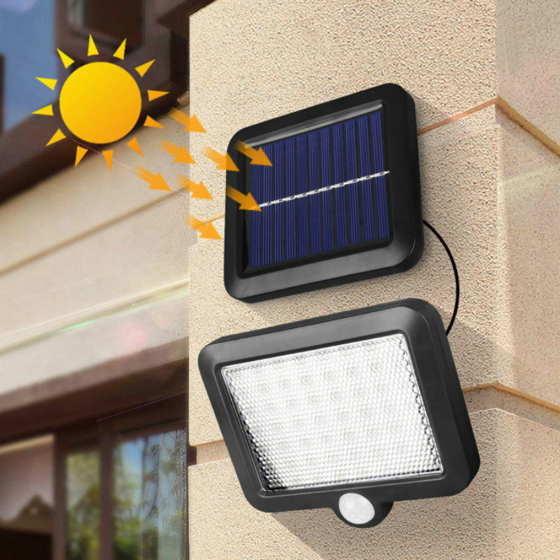 56 LED Solar Lights Outdoor Solar Led Wall Light With PIR Motion Sensor Solar Lamp IP65 Waterproof Infrared Sensor Garden Light