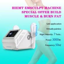 2021 Popular HI-EMT High-Intensity Emslim EMS Electromagnetic muscle Fat Burning Shaping Slim Muscle Trainer Beauty Equipment
