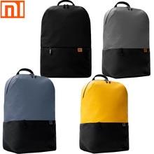 オリジナル xiaomi バックパックシンプルなカジュアルバックパック 20L バッグ大容量の男性と女性の 450 グラム超軽量防水ノートパソコンのバックパック