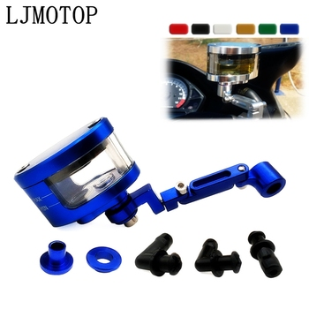 CNC Motorcycle Brake Clutch Tank Cylinder Fluid Oil Reservoir Cup bracket For BMW F800S F800ST HP2 Enduro K1200R K1200S image