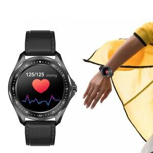 Image 4 - Senbono 2020新IP68防水スマートウォッチ心拍数血圧モニター天気スマートウォッチファッションフィットネストラッカー時計