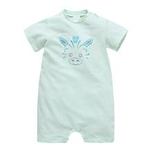 Honeyzone/Одежда для маленьких девочек; детские комбинезоны в полоску с короткими рукавами; высокое качество; летняя одежда; ropa bebe