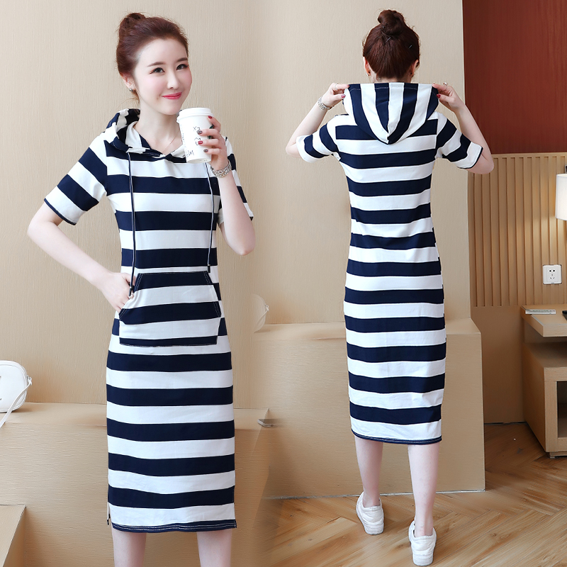 Top 10 Most Popular Pocket Design Hooded Dress List And Get Free Shipping A537