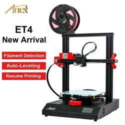 Anet ET4 zestaw do drukarki 3D DIY pulpit 3D rozmiar wydruku 220*220*250mm z PLA Filament impresora 3d wsparcie Auto leveling drukarki w Drukarki 3D od Komputer i biuro na