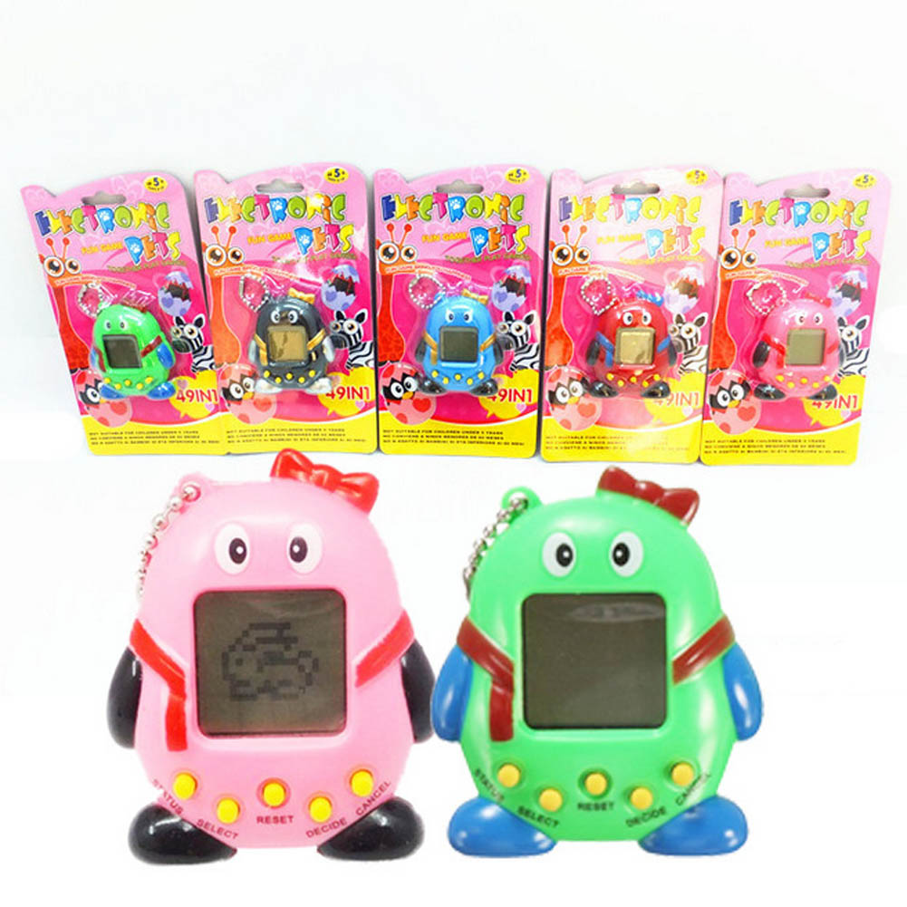 1pc Electronic Pet Game Machine Tamagochi Pet In Learning Education Toys For Children