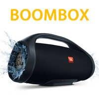 Boombox-Altavoz Bluetooth 3 y 2, reproductor de música con sonido a prueba de agua IPX7, caja de carga profunda, 4 Flip 5