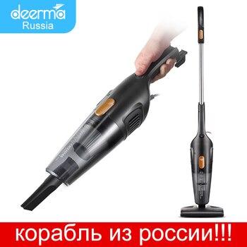 цена на Xiaomi MiJia Deerma Portable Handheld Vacuum Cleaner Household Silent Vacuum Strong Suction Home Aspirator Dust Collector