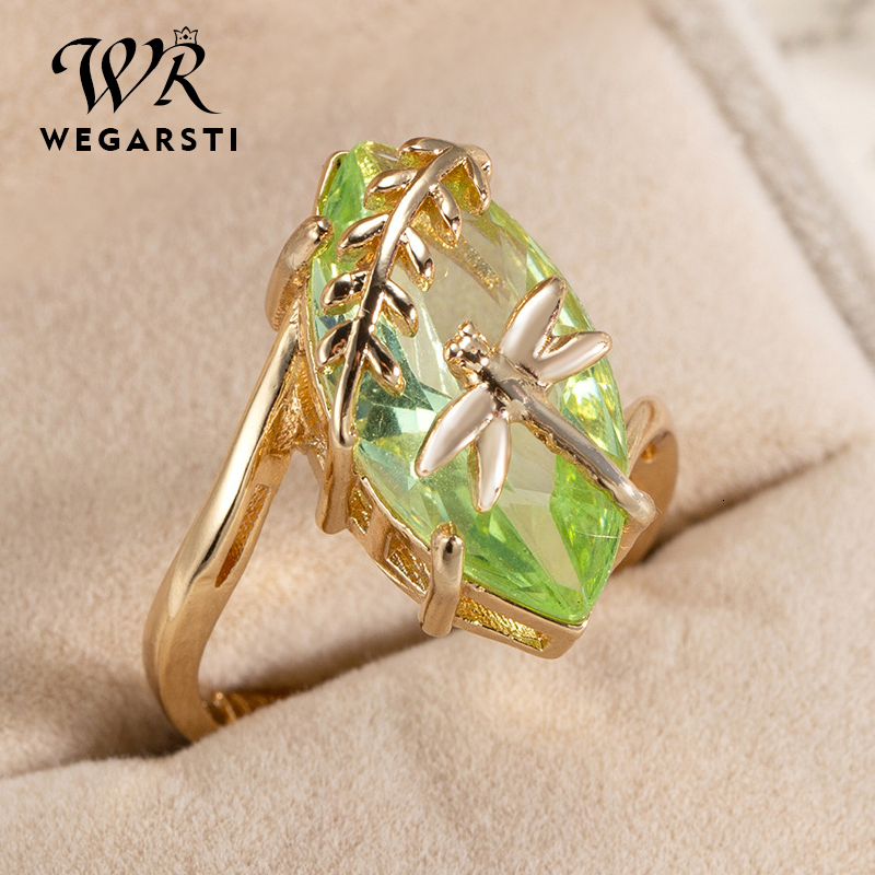 WEGARASTI Silver 925 Jewelry Ring Oval Emerald Gemstone For Women Ring Jewelry Natural Luxury Ring Fine Jewelry Gift