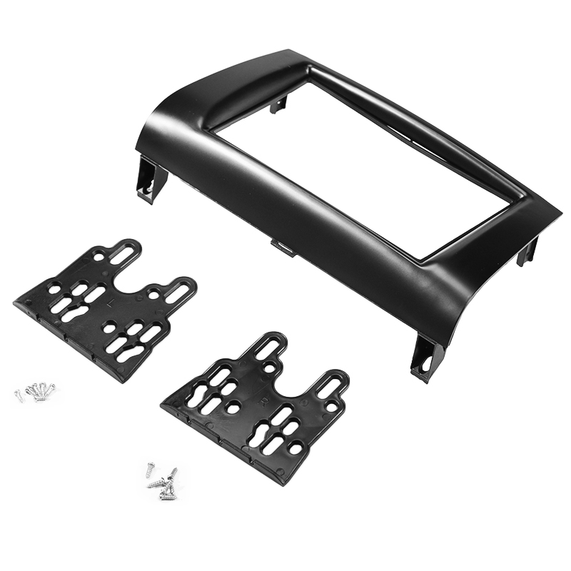 2DIN Car DVD Fascia Stereo Radio Fascias Dash Panel Plate Trim Kit Frame Cover For <font><b>Mazda</b></font> <font><b>3</b></font> AXELA <font><b>2004</b></font> 2005 2006 2007 2008 2009 image