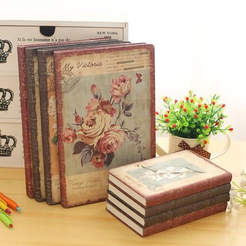 Roses Illustrations Sketchbook Notepad Diary Drawing Cute Roses Notebook Paper Book Office School Supplies Gift