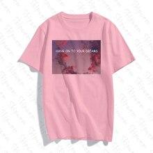 A Dream Come True Women Tshirt Harajuku Korean Style Aesthetic Colorful Short Sl