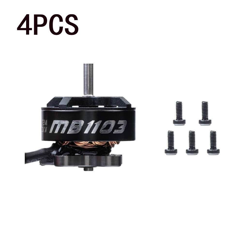 4 шт. Diatone Mamba 1103 12000KV 2S бесщеточный двигатель для радиоуправляемых FPV гоночных Фристайл Tinywhoop Cinewhoop зубочисток дронов