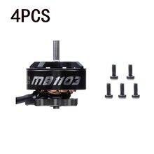 Moteur sans balais Diatone Mamba 1103 12000KV 2S pour Drones RC FPV de course Freestyle Tinywhoop, 4 pièces
