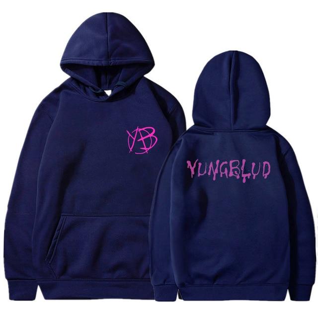 Yungblud Harajuku Style Hooded Top Men Women's Sweatshirt Long Sleeve Winter Top Teenagers Women's Hoodie Kawaii Streetwear Tops 3
