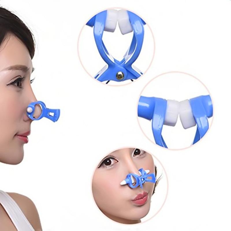 2 unids/lote masajeador cuidado de la nariz levantador de forma + puente enderezamiento belleza Clip nariz arriba herramientas moldeador Envío Directo