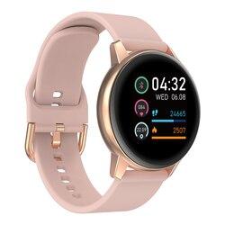 Смарт-часы для женщин 2020 R3 IP68 Водонепроницаемые мужские спортивные Смарт-часы для фитнеса с пульсометром женские часы
